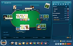Скриншот: Texas Holdem Poker в LiveGames